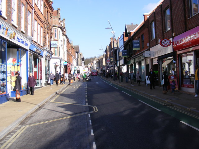 Upper Brook Street, Ipswich
