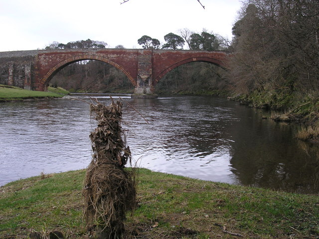 Looking Southeast to the Lowood Bridge