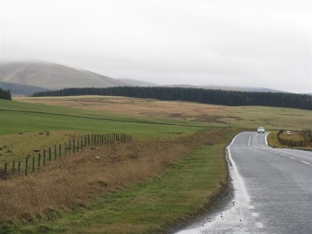 The road to Peebles - A703