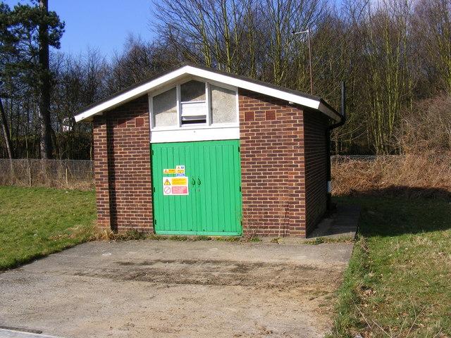 Electricity Sub-Station on Bixley Road, Ipswich