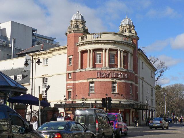 The New Theatre, Cardiff.