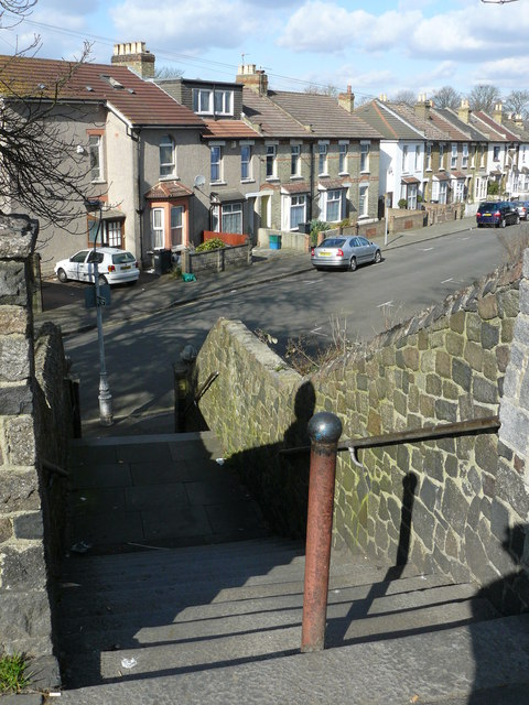 Staircase from Waddon Road