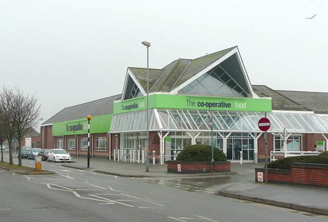 The Co-operative supermarket, Mablethorpe