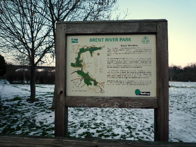 Brent Lodge Park information board