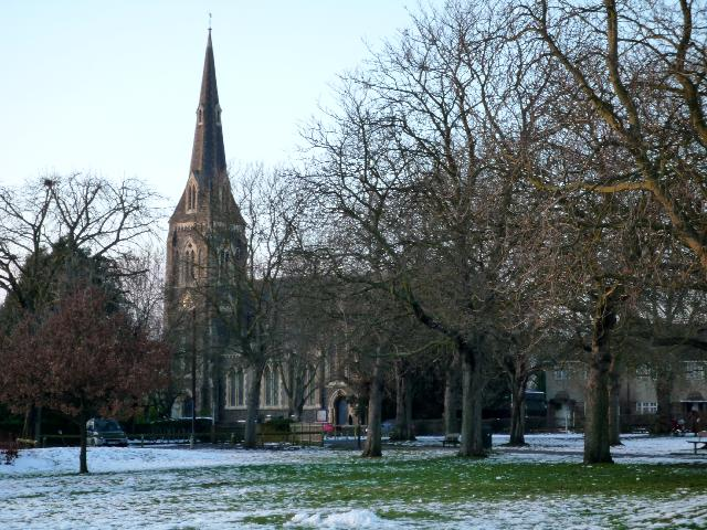 St. Mary's church, Hanwell