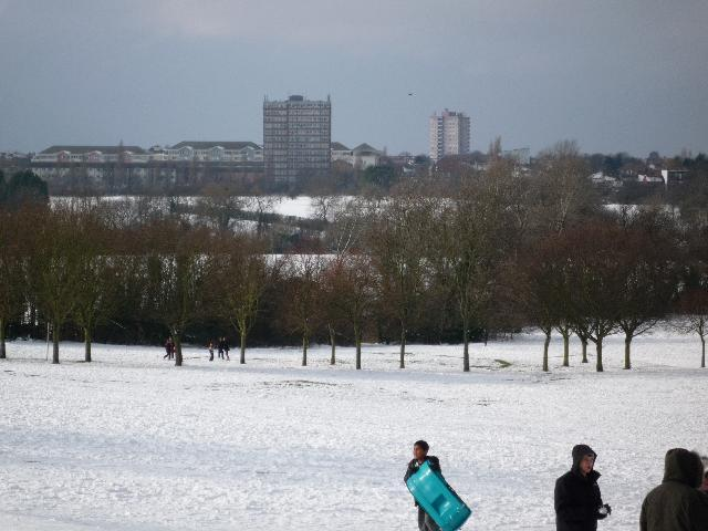 Brent Valley golf course (snow scene)