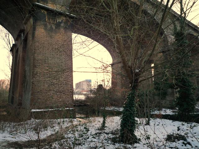 Arch on the Wharncliffe Viaduct