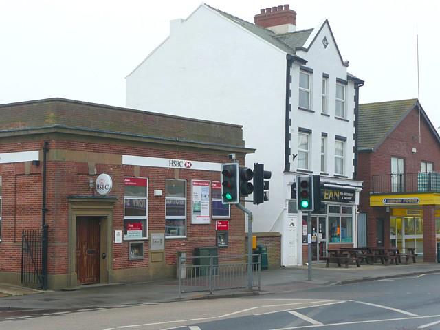 The HSBC bank, Mablethorpe