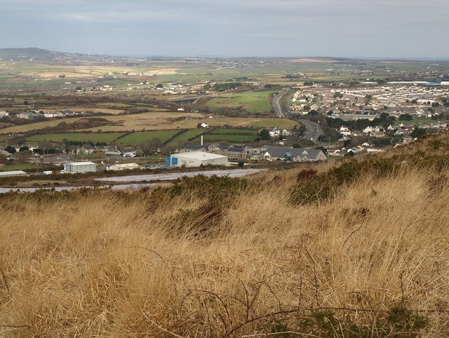 On Carn Brea