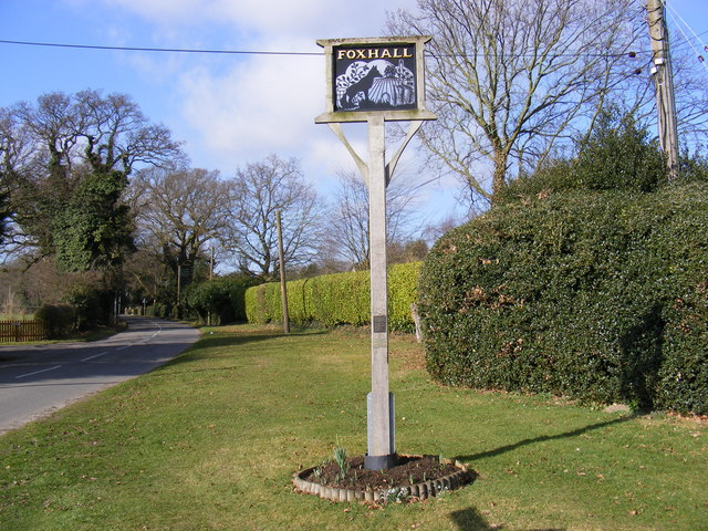 Foxhall Village Sign
