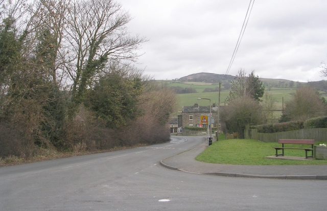 Bolton Road - viewed from Bark Lane