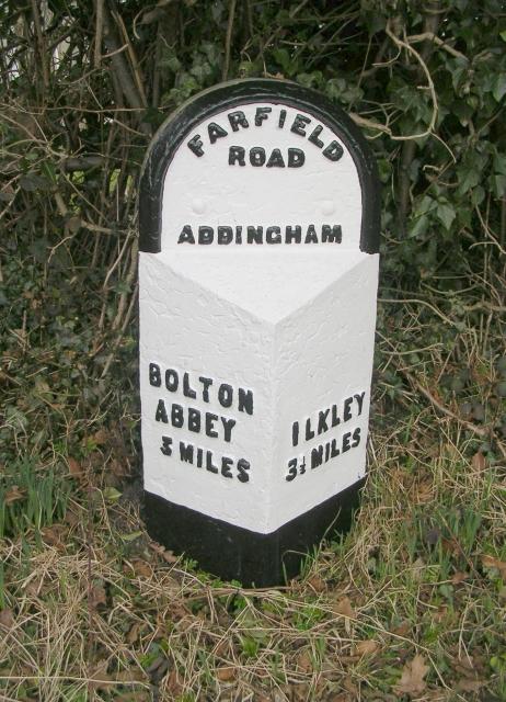 Milestone - Bolton Road