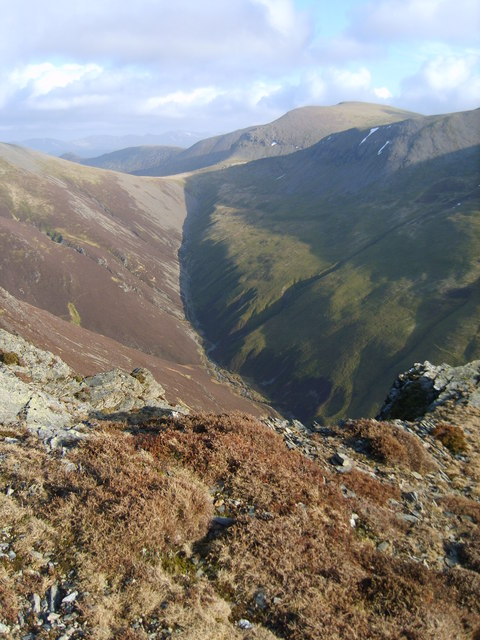 On Gasgale Crags
