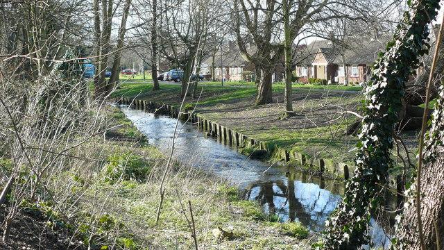 River Wandle at Beddington