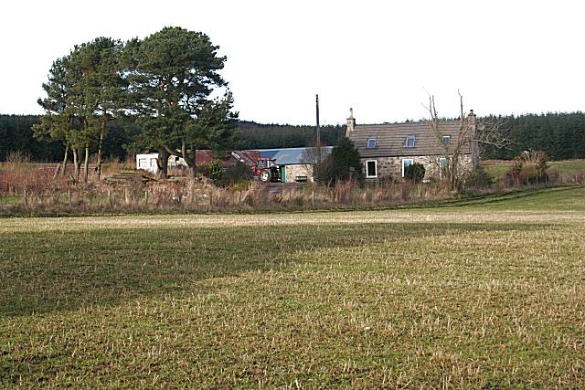 Cottage on Balnamoon Hill