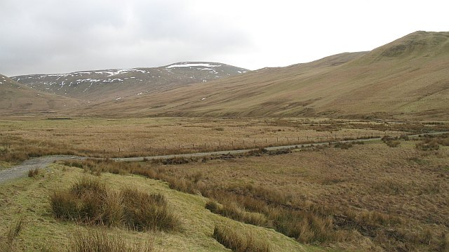 Glen above the Fruid Reservoir