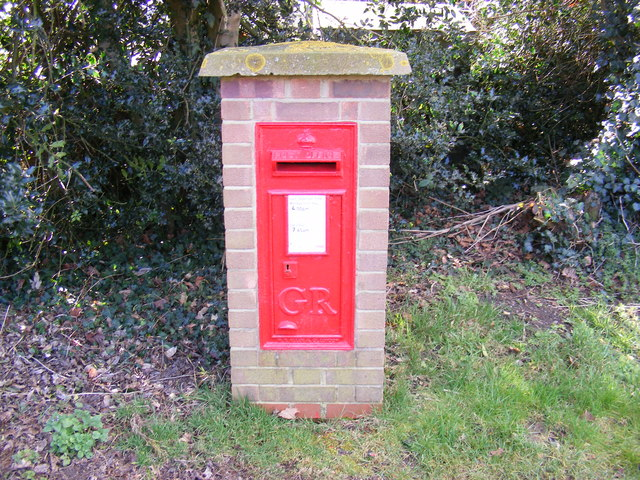 Bucklesham Road George V Postbox, Foxhall