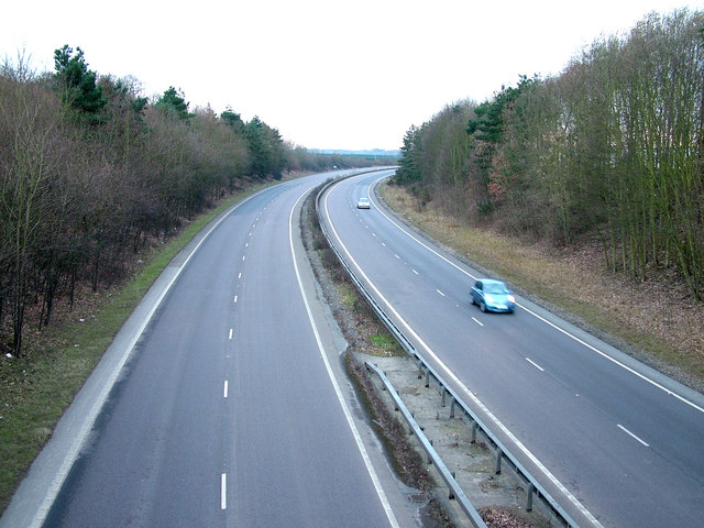 A12 road south, Pettistree