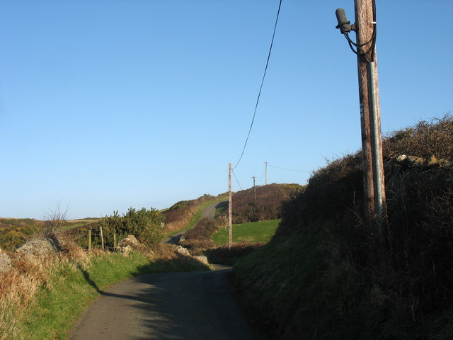 The road to Llanlleiana