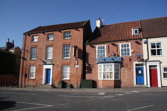 Laceby village centre