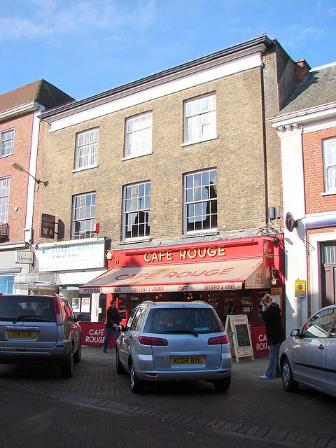 Café Rouge, High Street, Hitchin