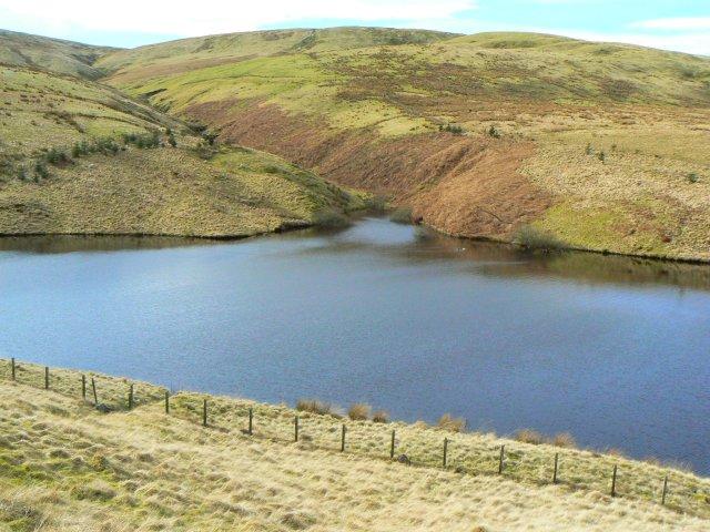 South end of reservoir