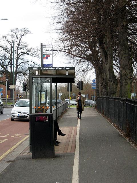Bus Stop, University West Gate