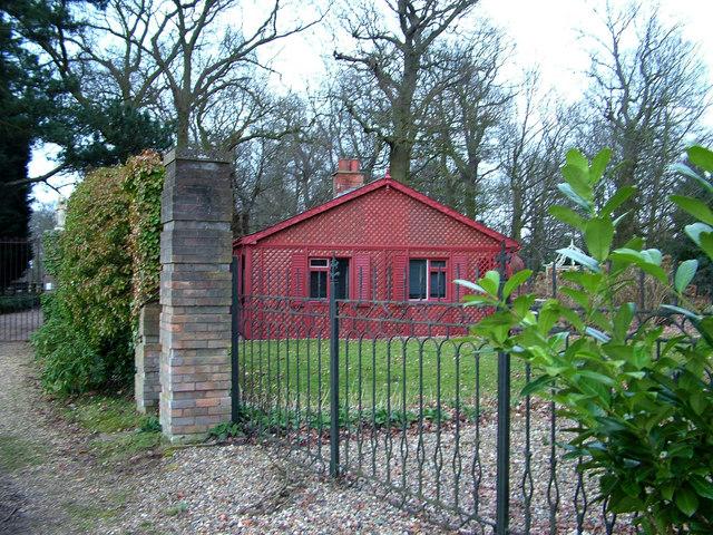 Gatehouse at Loudham Hall
