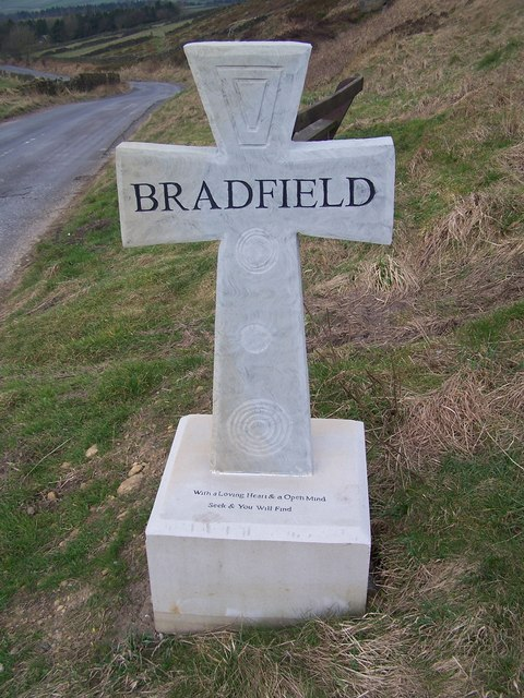 Bradfield Cross near High Bradfield