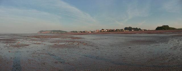 Blue Anchor : North Somerset Coastline
