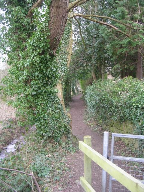 Footpath - Bolton Road