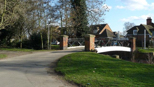 Bridge in Beddington Park