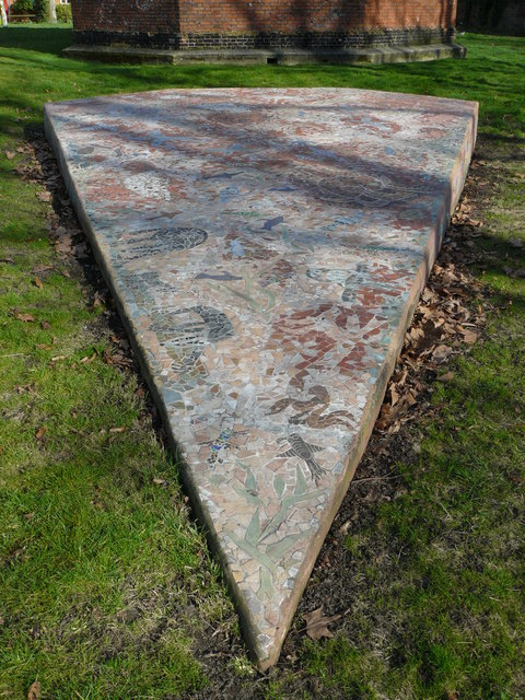 Mosaic in Beddington Park