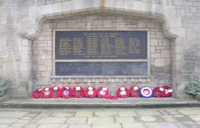 War Memorial - Main Street