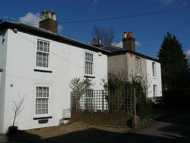 Cottages in Church Lane, Beddington