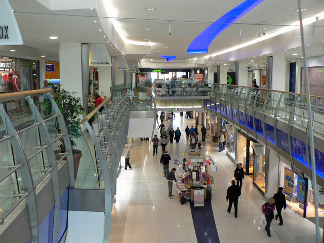 Ground floor of the Capitol Centre, Cardiff