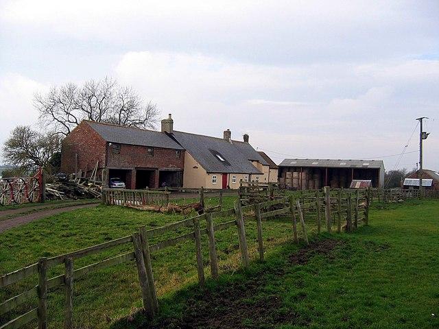 Black Hurworth farmhouse