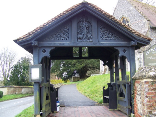 Lych gate, St Mary's Church