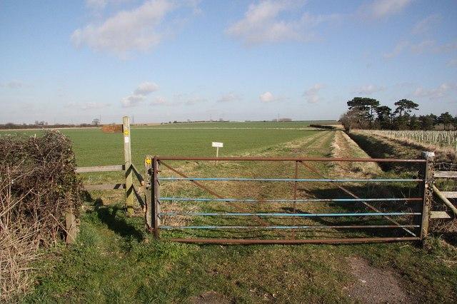 Aylesby farmland