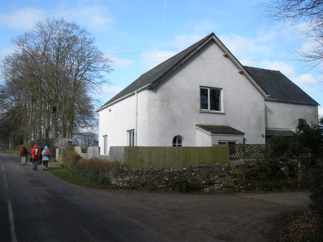 Lodge, north of Churchinford