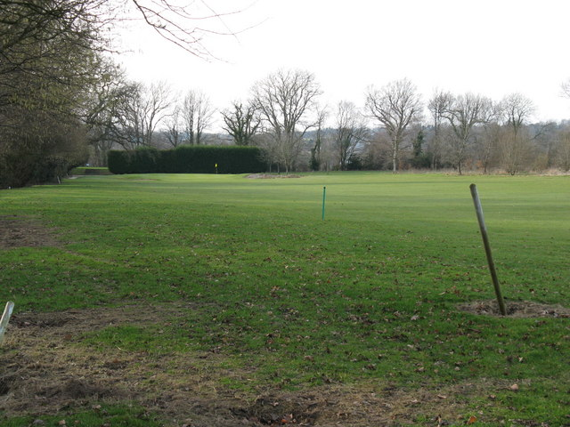 SW corner of West Chiltington golf course