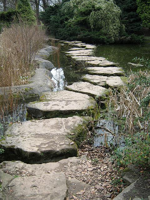 The Stepping Stones, University Lake