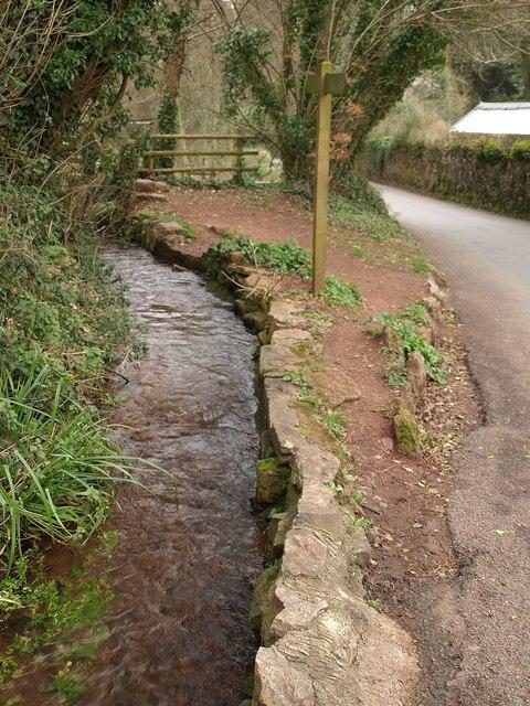 Stream, Cockington