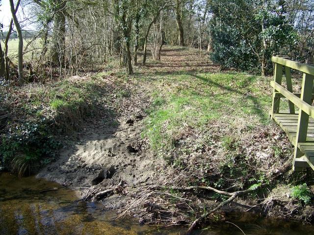 Bridleway near Crow