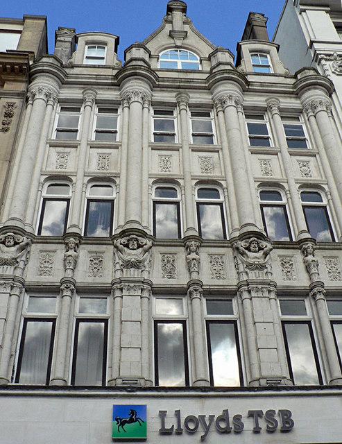 Lloyds TSB building, Queen Street, Cardiff.