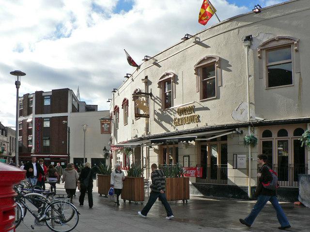 The Owain Glyndwr, Working Street, Cardiff.