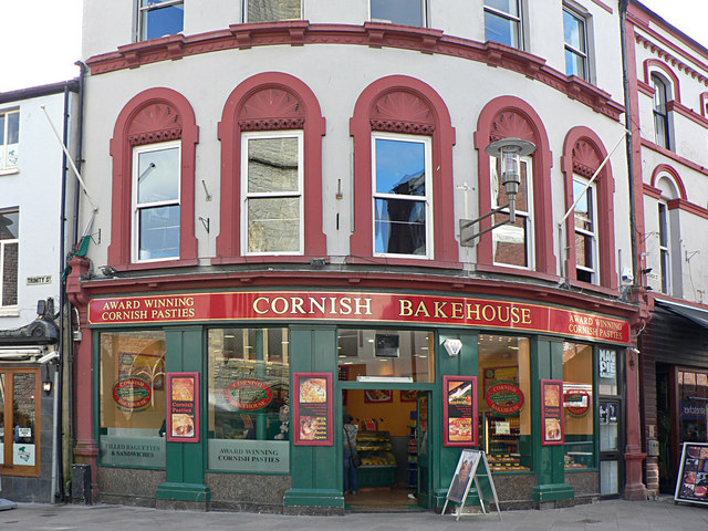 Cornish Bakehouse, Working Street, Cardiff.