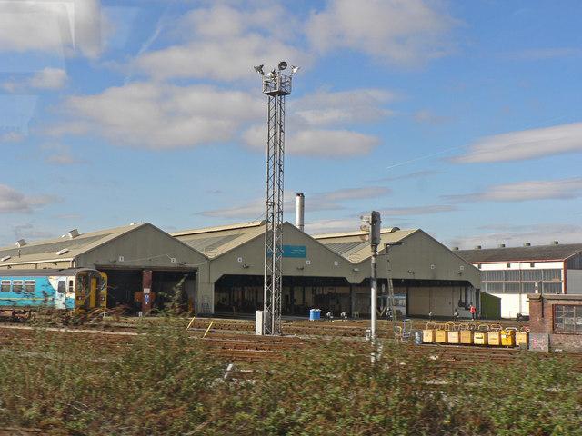 Arriva Trains Canton Depot, Cardiff.
