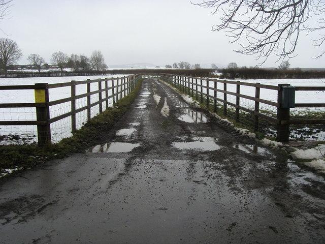 Entrance to Chilboro Hill Farm