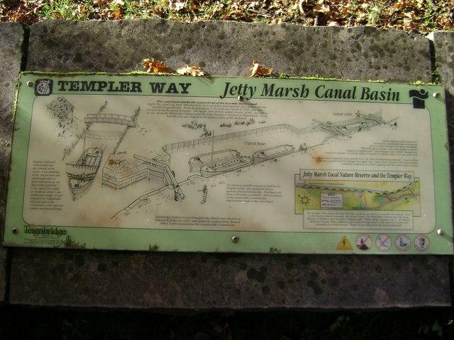 Stover canal interpretation panel